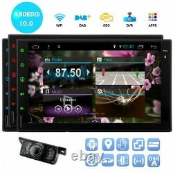 Android Voiture Stereo Gps Navigation Radio Lecteur Double Din Wifi 7 Usb Sd Caméra