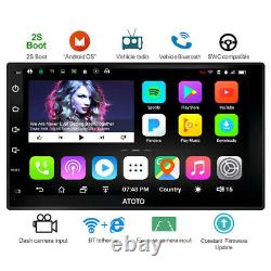 Atoto A6y2710s Double 2 Din Android Car Stereo Headunit Bluetooth X2-gps-aux