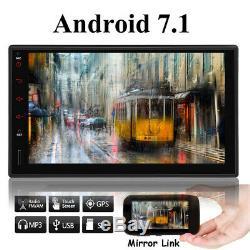 Au Tableau De Bord Android 7.1 Wifi 7double 2din Autoradio Gps Stéréo Lecteur DVD