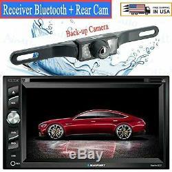 Blaupunkt Autoradio Double Din 6.2 Écran Tactile DVD Bluetooth + Caméra Arrière Xv95