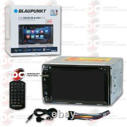 Blaupunkt Car Audio Double Din 6.2 Écran Tactile LCD DVD CD Mp3 Bluetooth Stereo