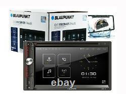 Blaupunkt Double Din Car Stéréo 6,9 DVD CD Écran Tactile Radio Mirror Lien + Came