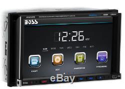 Boss Audio Bv9757b Double Din Car DVD / CD / Mp3 / Usb / Sd / Lecteur Stéréo Bluetooth Aux