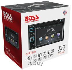 Boss Bv9364b 6.2 Double Din In-dash Dvd/mp3 Bluetooth Touchscreen Car Récepteur