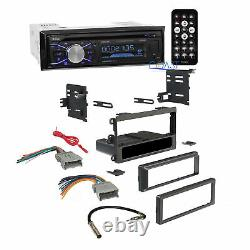 Boss Car Radio Stereo Double Din Dash Kit Harness Pour Chevy Gmc Pontiac 1992-up