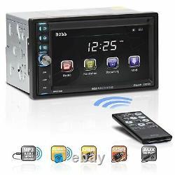 Boss Double-din 6.5 Moniteur Écran Tactile Bluetooth Voiture Mp3 Lecteur Stéréo Bv9370b