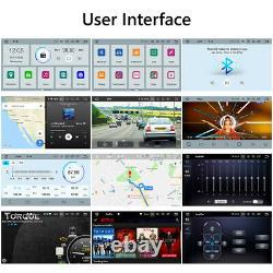 Cam + Obd + Android 10 Double Din 10.1 Meilleure Voiture Stéréo D'apple Carplay Radio Gps Navi