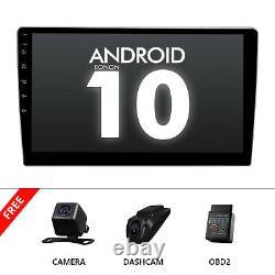 Cam+obd+dvr+double 2din En Dash 10.1 Android 10 Voiture Stéréo Radio Gps Navi Audio