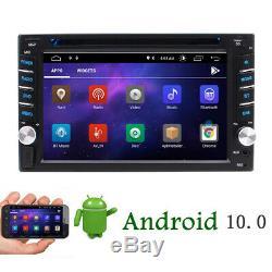 Caméra De Recul + Android 10.0 Q 2 Go Gps Nav Double 2 Din Car Stereo Radio Usb / Sd