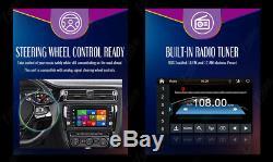 Caméra De Recul + Gps Double 2 Din Car Stereo Radio CD Lecteur DVD Bluetooth Avec Carte