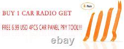 Caméra De Sauvegarde Gps Double 2 Din Car Stereo Radio Lecteur DVD Bluetooth Aux Carte