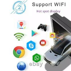 Caméra De Secours 7inch Android 8.1 Double 2din Car Radio Stereo Player Wifi Aux Gps