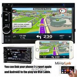 Caméra + Hd Lecteur DVD De Voiture Radio Stéréo Pour Toyota Rav4 Corolla Hilux Camry Tundra