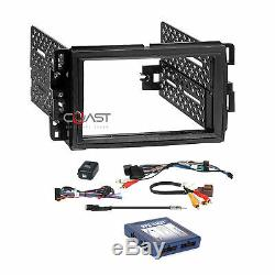 Car Radio Stereo Double Din Gm Dash Kit Onstar Bose Swc Fil Interface Harnais
