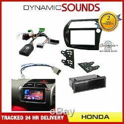 Car Stereo Simple Double Din Facia Stalk Kit De Fixation Rhd Honda CIVIC 2006-2011