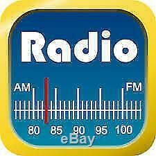 Chrysler Jeep Dodge Bluetooth Tactile Usb Sd Aux Car Radio Stéréo
