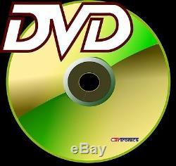Chrysler Jeep Dodge Navigation Gps Double Din CD / DVD Radio Stéréo Bluetooth Bt