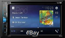 Chrysler Jeep Dodge Pioneer Bluetooth Usb Double Din DVD CD Voiture Radio Stéréo