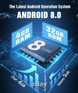 Citrouille Octa-core Android 8.0 Lecteur DVD De Voiture Gps Stéréo Double Din Dab Obd2 Wifi