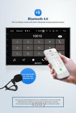Citrouille Octa-core Double 2 Din 10.1 Android 9.0 Voiture Radio Stéréo Ram4gb Gps Fm