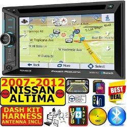 Convient Nissan Altima 2007-12 Navigation Bluetooth Cd/dvd Usb Aux Car Radio Stéréo