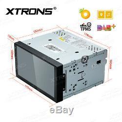 Dash Radio Double Din 7 8-core 4 + 32gb Ui Stéréo De Voiture Rds 4k Vidéo Wifi 4g