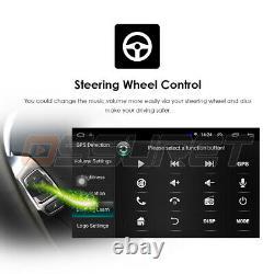 Double 2 Din 10.1 Android 9.1 Gps Navi Car Stereo Radio Wifi Mp5 2.5d Écran