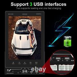 Double 2 Din 9.5'' Voiture Stereo Radio Apple Carplay Mp5 Bluetooth Fm Mirror Link