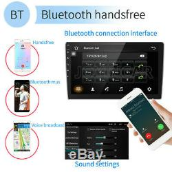 Double 2 Din Android 9.1 Car Stereo 10,1 Pouces À Écran Tactile Radio Bt Wifi Gps