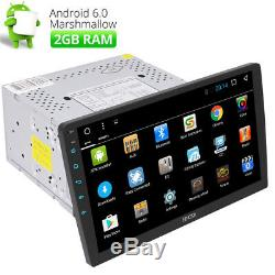 Double 2din 10.1 Android 6.0 Stéréo De Voiture Sans DVD Gps Navi Radio Wifi Obd2 4-core