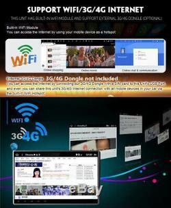 Double 2din 10.1 Hd Stéréo De Voiture Lecteur Mp5 Android 9.1 Gps Navi Wifi 3g / 4g