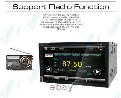 Double 2din 7 Voiture Stereo DVD Player Hd In Dash Touch Screen Bluetooth Radio