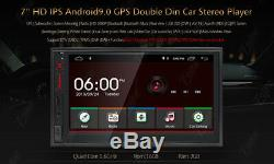 Double 2din 7car Stereo Radio No Lecteur DVD Android 9.0 Gps Sd Aux Bluetooth