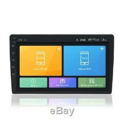 Double 2din 9 Android 9.1 4-core 2 Go + 32 Go Car Stereo Radio Mp5 Gps Wifi