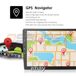 Double 2din Android 9.1 Voiture Stereo Radio Gps Bluetooth 9'' Touch Mp5 Player Usb