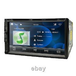 Double 2din In Dash Sony CD Lens 7car Stereo Radio Lecteur CD DVD Aux Bt Tv Mp3