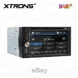 Double 2din Intégré Dab + Lecteur DVD De Voiture Gps Navigation Radio Unité Principale Radio Usb Et Sd