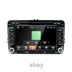 Double 2din Pour Vw Golf Mk5 Mk6 T5 Voiture Stéréo Radio Bluetooth DVD Lecteur CD Rds