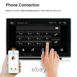 Double 2din Rotatif 10.1'' Android 10.1 Voiture Stéréo Radio Gps Wifi Écran Tactile