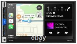 Double 7 2-din À Écran Tactile Au Tableau De Bord Récepteur Multimédia Numérique Avec Bluetooth