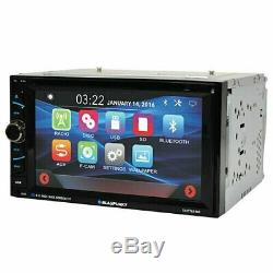 Double Audio Blaupunkt Voiture Din 6.2 Écran Tactile DVD Bluetooth + Xv95 De La Caméra Arrière