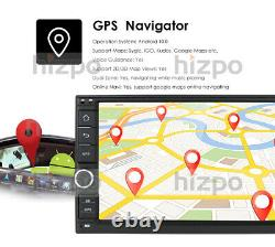 Double Din 7 Android 10 4 Go Ram Voiture Stéréo Radio Gps 4g Wifi Obd2 Multimedia Bt