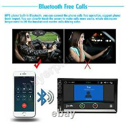 Double Din 7 Voiture Stereo Mp5 Bluetooth Radio Usb Fit Ford F-150 Explorer Mustang