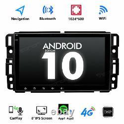 Double Din 8 Android 10 2 + 32go Autoradio Gps Nav Radio Wifi Pour Chevrolet Gmc