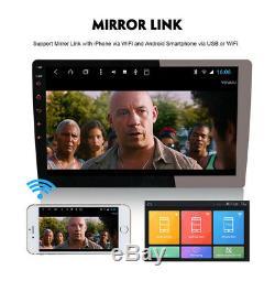 Double Din À Écran Tactile Voiture Stéréo Android 8.1 10.1 Hd 1080p Au Tableau De Bord Unité Radio