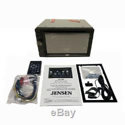 Double Din Bluetooth Car Stereo + Caméra De Recul + Dodge Ram Dash Kit D'installation + Harnais