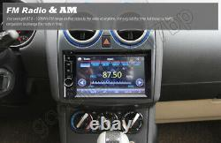 Double Din Car Stereo Dvd+backup Camera Touch Screen Radio Mirror Link Pour Gps