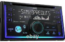 Double Din Car Stereo Radio Jvc Kwr930bt 1 Paire 2way 6.5 1pair 6x9 3way Haut-parleurs
