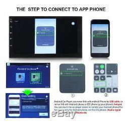 Double Lecteur 2din 7 Android 7.1 Noyau 3g Wifi Gps Fm Radio Stéréo Voiture Lecteur Mp5