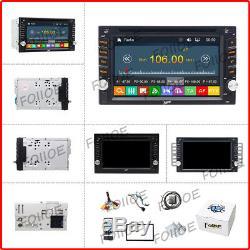 Double Lecteur DVD De Voiture Stéréo 2din 6.2 Bluetooth Radio Mp3 / Navigation Gps